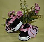 Сандалики для девочки, босоножки на липучках.  Канарейка, фото 7