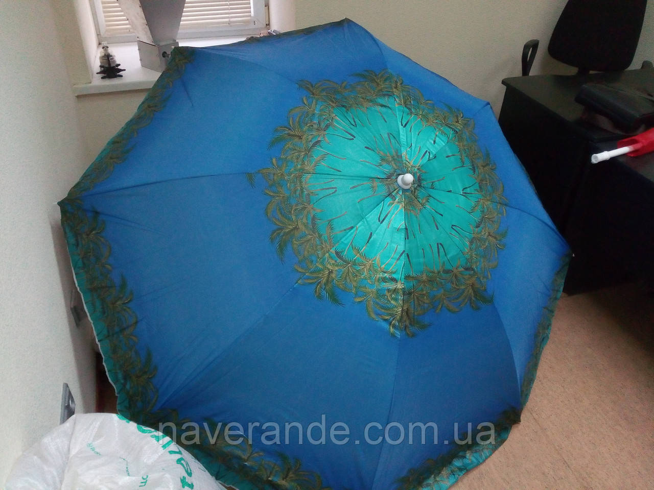 Пляжный зонт от солнца (D1,8 м)