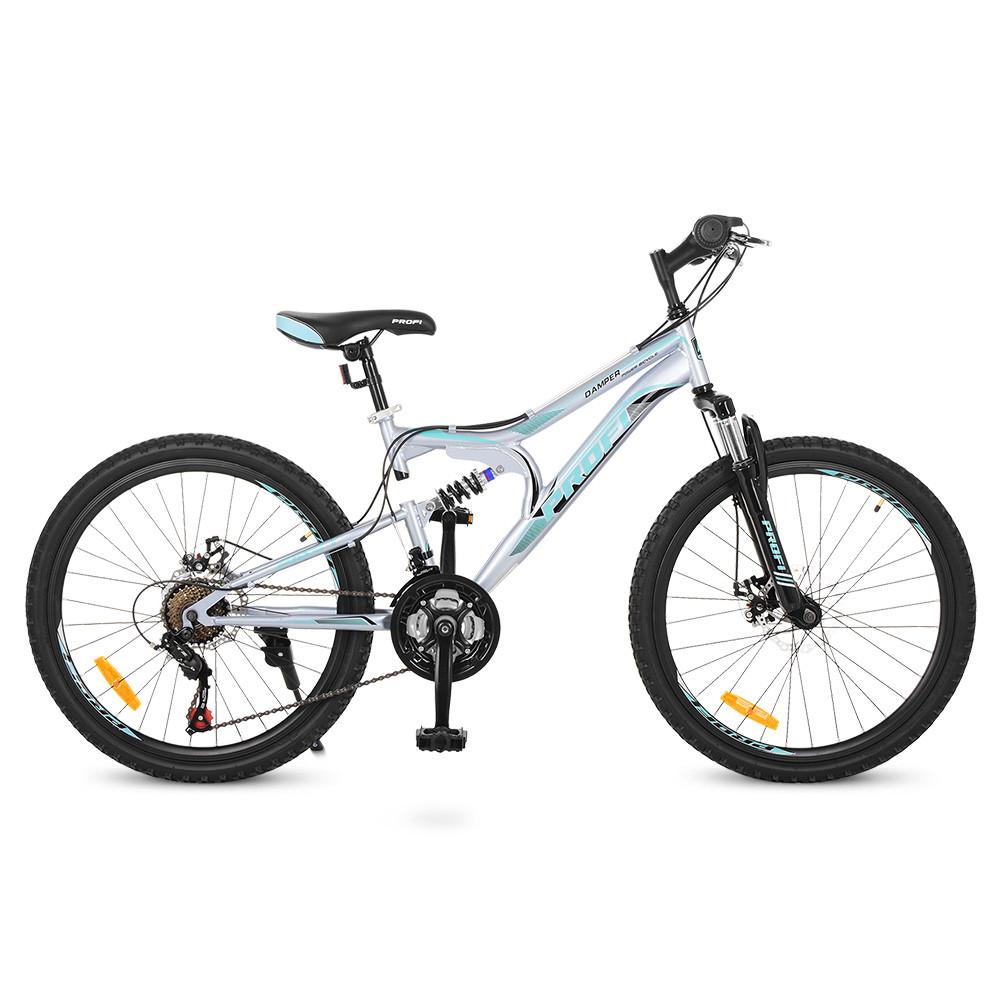 Велосипед 24 д. G24DAMPER S24.5 Гарантия качества Быстрая доставка
