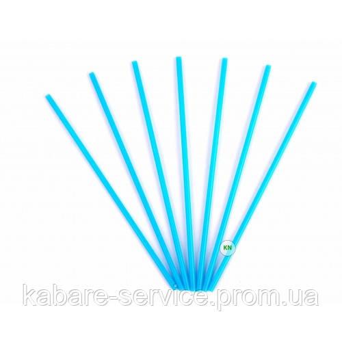 Трубочка (для мартини) голубая USA 13 см 3.3 мм 200 шт