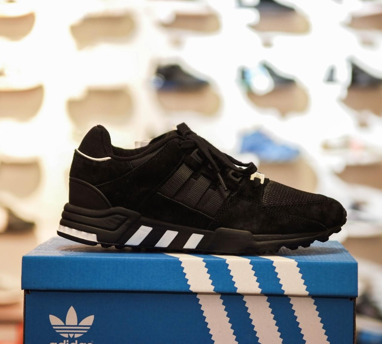 857c5894 Кроссовки в стиле Adidas Equipment Support ADV Core Black Utility мужские