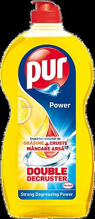 Засіб для миття посуду Pur Power Lemon Extra 450 мл, фото 2