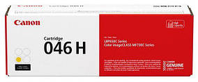 Картридж Canon 046H LBP650/MF730 series Yellow