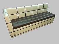 Кухонный  диван с нишей и боковой спинкой Edison