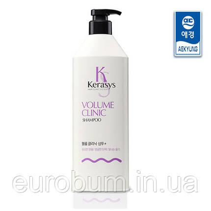 Шампунь для волосся Kerasys Volume Clinic Shampoo Plus 600 мл, фото 2