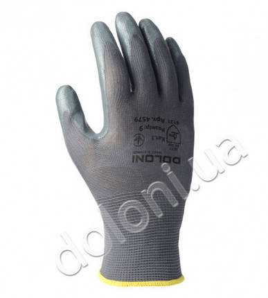 Защитные перчатки с нитриловым покрытием.DOLONI, фото 2