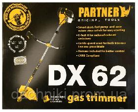 Мотокоса PARTNER DX 62 (2 ножа,1 катушка), фото 3