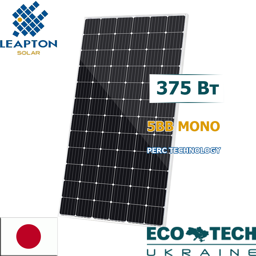 Солнечная батарея Leapton LP-72М-375 монокристалл