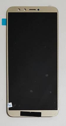 Модуль (сенсор + дисплей) для Huawei Honor 9 Lite (LLD-L31) золотой, фото 2
