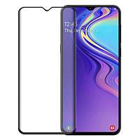 Защитное цветное стекло Mocolo (full glue) на весь экран для Samsung Galaxy M20