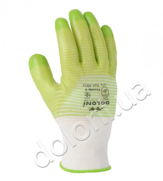 Защитные перчатки с ПВХ покрытием. DOLONI