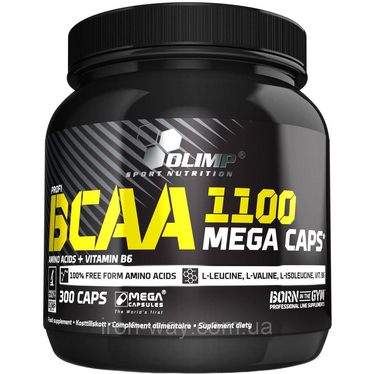 Olimp Labs BCAA Mega 1100 mg 300 caps