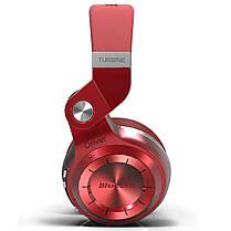 Bluetooth гарнитура Bluedio T2 Plus Red трансформер беспроводная разъем microSD ФМ радио наушники с микрофоном, фото 3