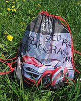 Сумка (мешок) для обуви Speed racing, фото 1