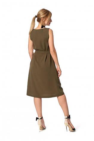 """Платье """"Камила"""" цвет хаки размеры 42,44, фото 2"""