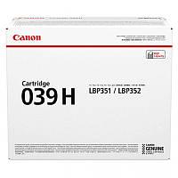 Картридж Canon 039H LBP351/352 Black
