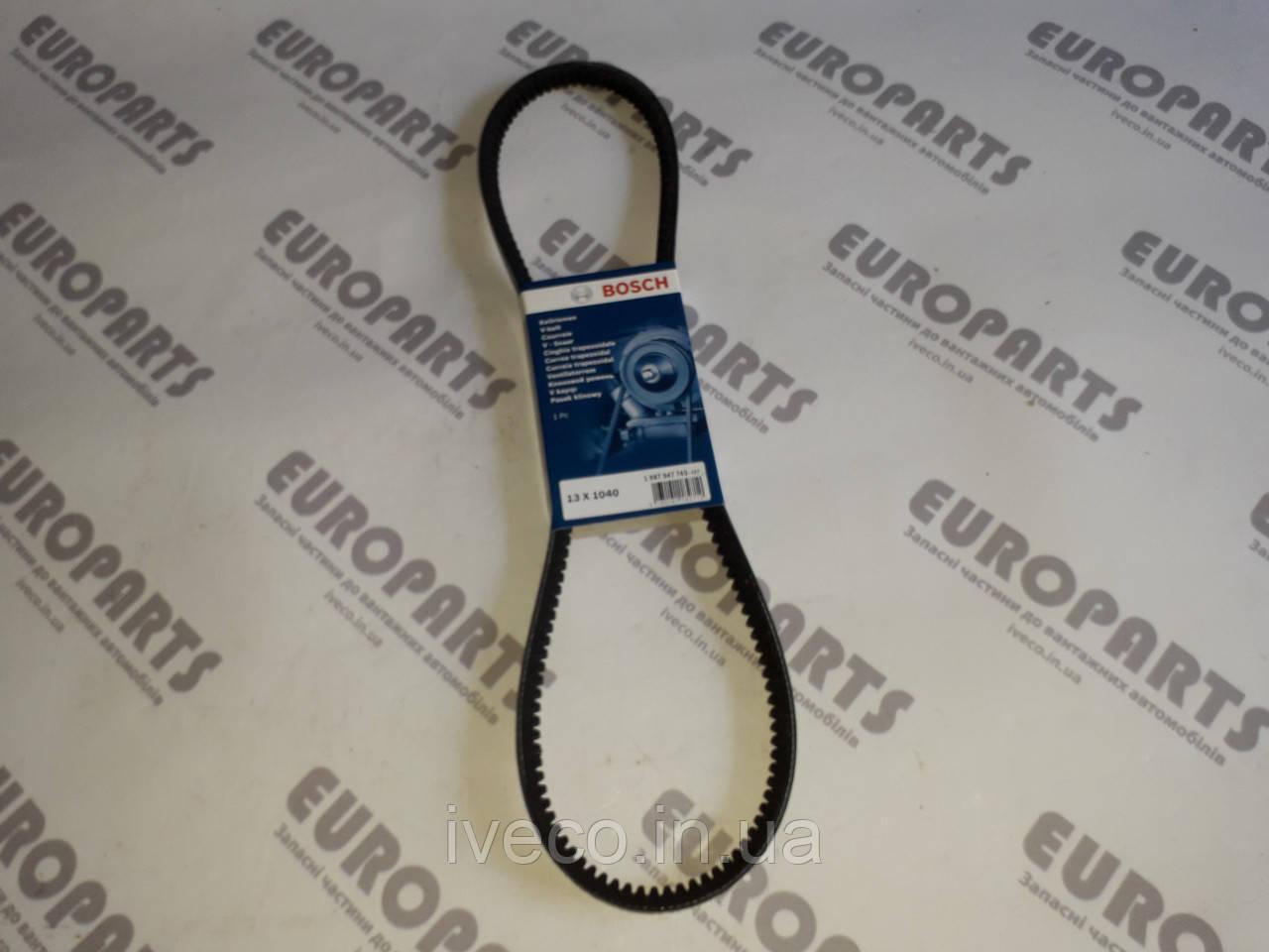 Ремень генератора Iveco Eurotech Eurostar 98459455 500385852  13x1040