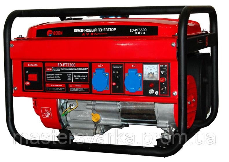 Бензиновый генератор EDON PT 3300 на 3,3 кВт. 220 V