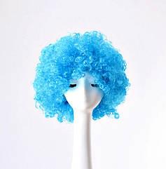Парик Клоуна (голубой)