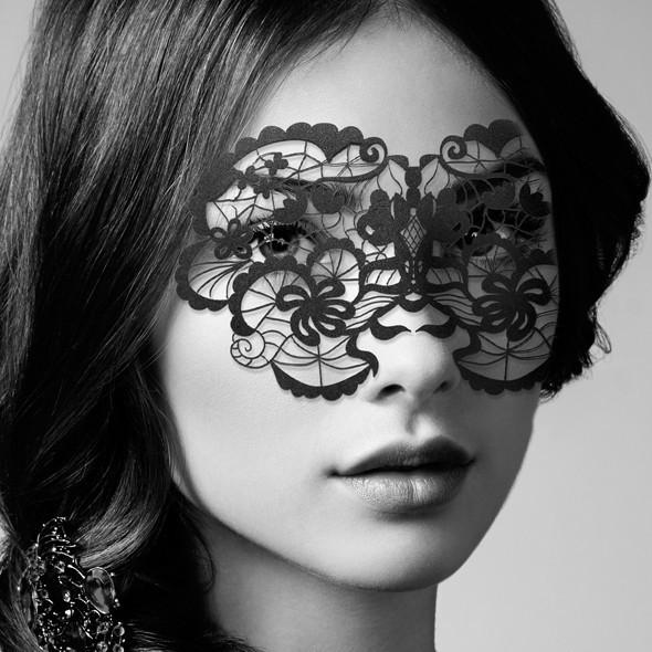 Кружевная маска Bijoux Indiscrets Eyemask Anna