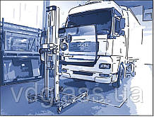 Замена лобового стекла на грузовике Peterbilt 387 в Никополе, Киеве, Днепре