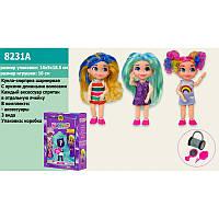 "Кукла ""Hairdorables"", 3 вида, кукла-сюрприз, шарнирная, 8231A"