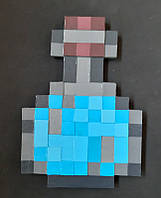 Колба Minecraft (МайнКрафт) голубая
