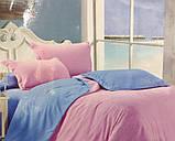 """Комплект постельного белья ТМ """"Ловец снов"""", Однотонный синий, фото 6"""