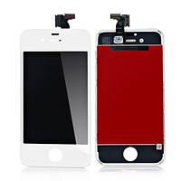 Дисплей экран с тачскрином сенсором для Apple iPhone 4 / 4G белый
