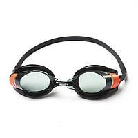 Очки для плавания от 7 лет, оранжевые