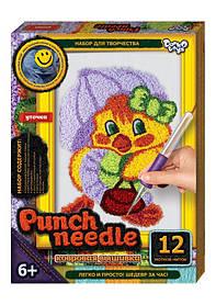 Вышивка Punch needle. Уточка PN-01-03 Danko-Toys
