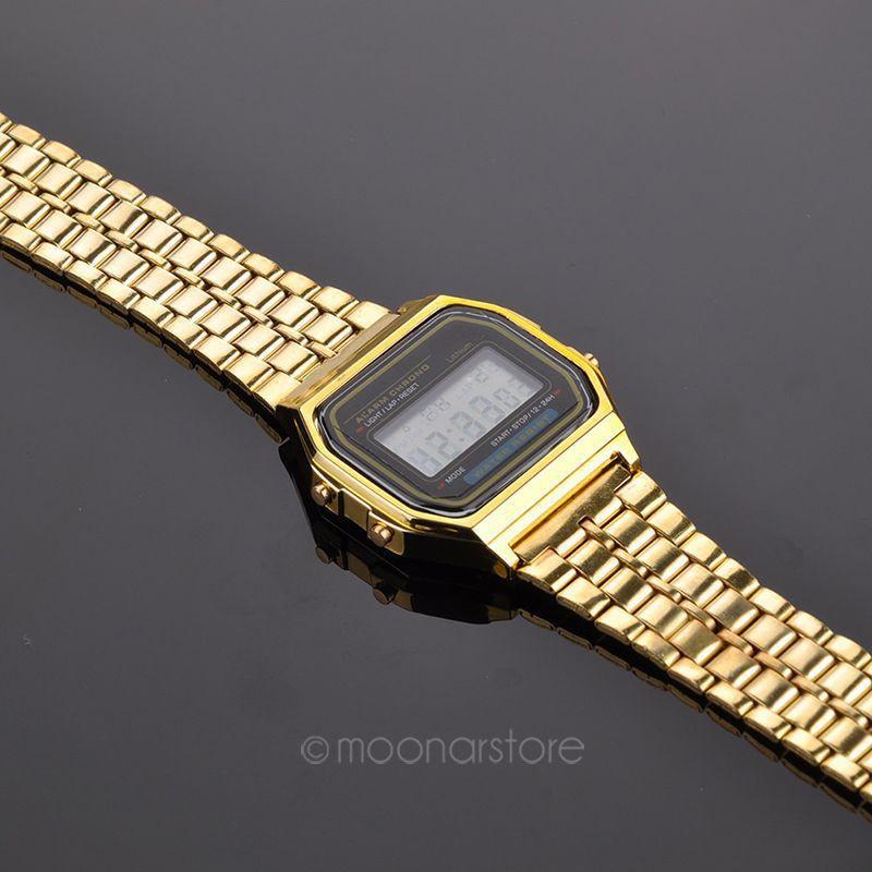 Часы casio classic gold