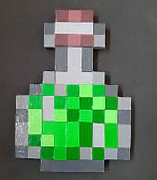 Колба Minecraft (МайнКрафт) зеленая