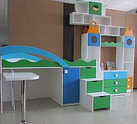 Детская модульная стенка комплект