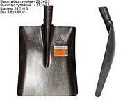 Лопата совковая песочная МАТиК из рельсовой стали (ЛСП1)