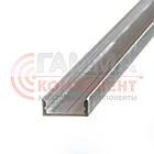 Алюминиевый профиль анодированный для светодидных лент ПФ-18 накладной, 2м, фото 2