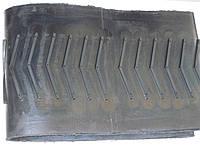 Лента бесконечная с шевроном 400х4х2560 на зернометатель