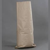 Мешки бумажные, 100х49,5х9 см, 4-х слойные, белые, открытые, фото 2