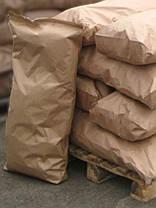 Мешки бумажные, 100х49,5х9 см, 4-х слойные, белые, открытые, фото 3