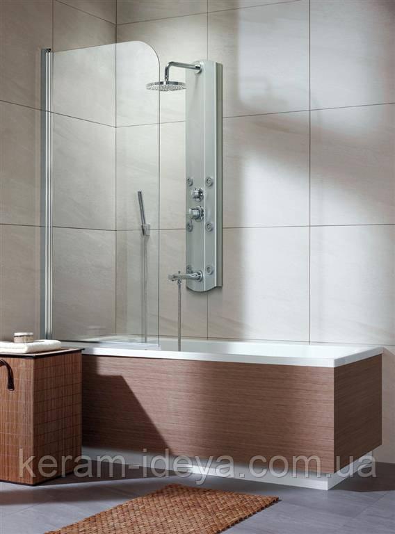 Шторка стеклянная на ванну Radaway Eos PNJ 70см 205101-101L левая