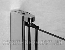 Шторка стеклянная на ванну Radaway Eos PNJ 70см 205101-101L левая, фото 2