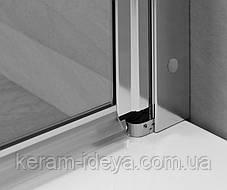 Шторка стеклянная на ванну Radaway Eos PNJ 70см 205101-101L левая, фото 3