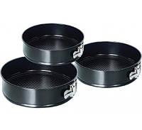 Формы для выпечки разъемные круглые (набор 3 шт)