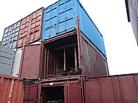 Морской контейнер 20 футовый с открытым верхом