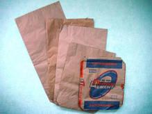 Мешки бумажные, 85х49,5х12 см, 3-х слойные, склееный открытый, фото 2