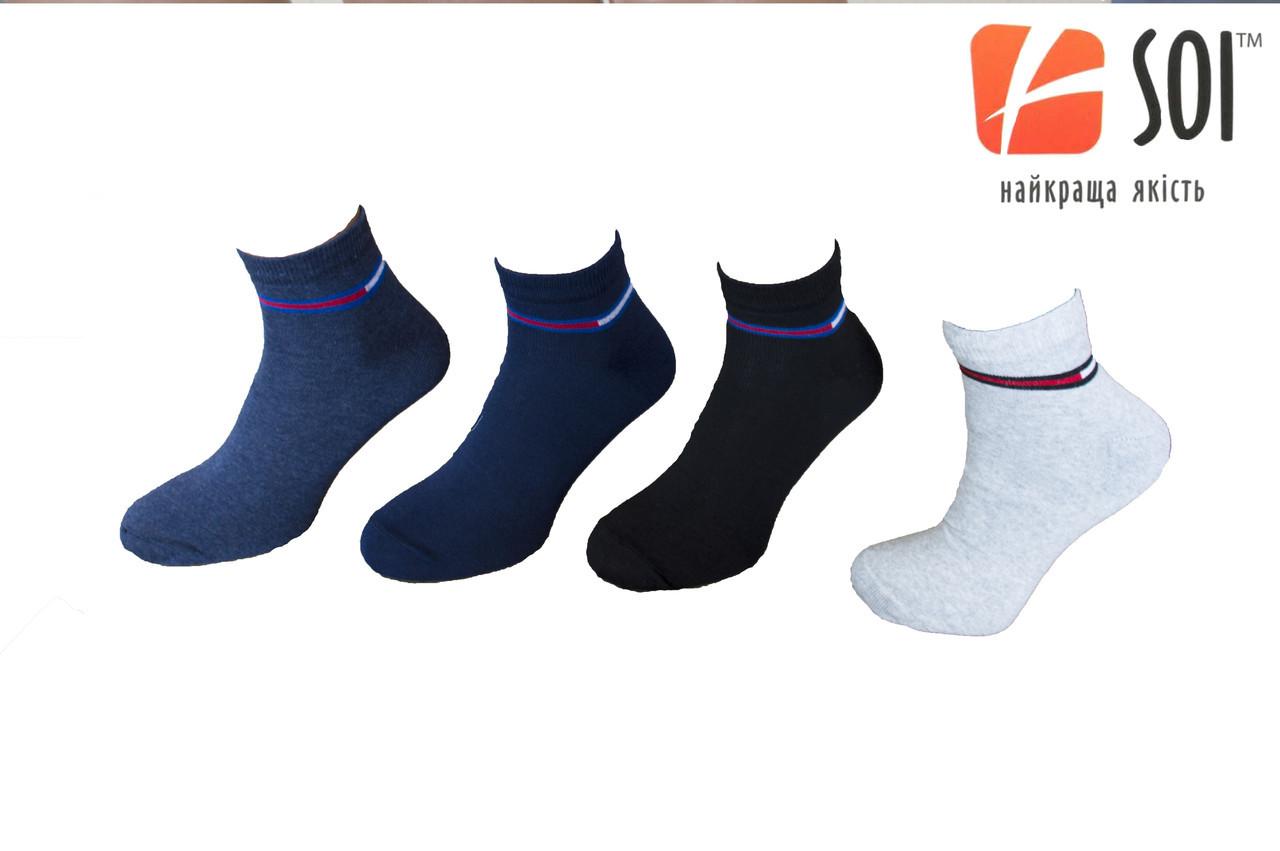 Шкарпетки чоловічі спортивні SOI 29р. (43-44)