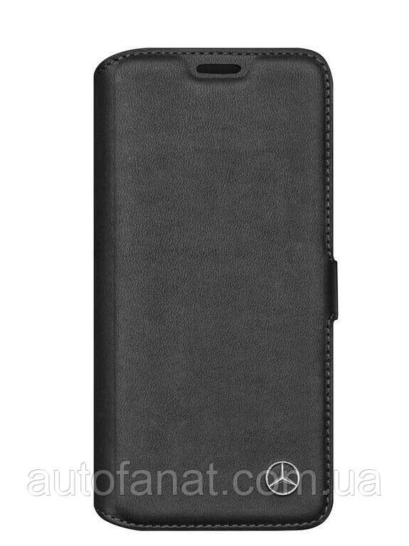 Оригинальный чехол-книжка Mercedes-Benz Cover for Samsung Galaxy S8, Booktype, Black (B66953798)