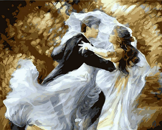 Набор-раскраска по номерам Свадебный вальс худ Лена Сотскова , фото 2