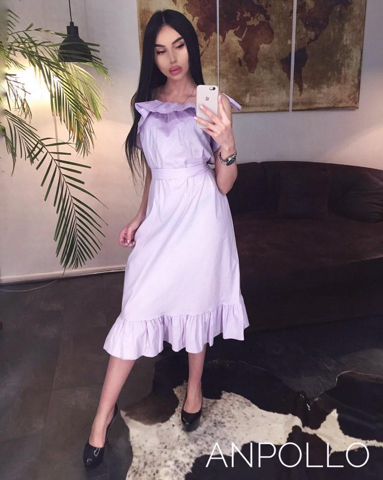 Женское нежное стильное  платье мод.783
