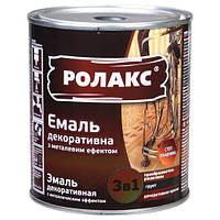 Ролакс Miofe 770 черный 0,75л Эмаль антикоррозийная